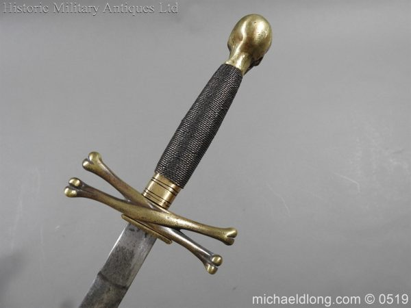 michaeldlong.com 1595 600x450 British 19th Century Masonic lodge Sword