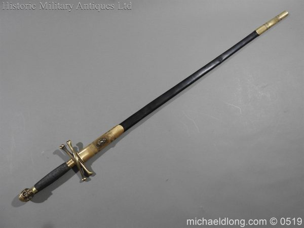 michaeldlong.com 1597 600x450 British 19th Century Masonic lodge Sword