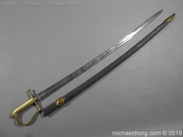 michaeldlong.com 1598 600x450 American Naval Marine Officer's Sword 1815 by Horstmann