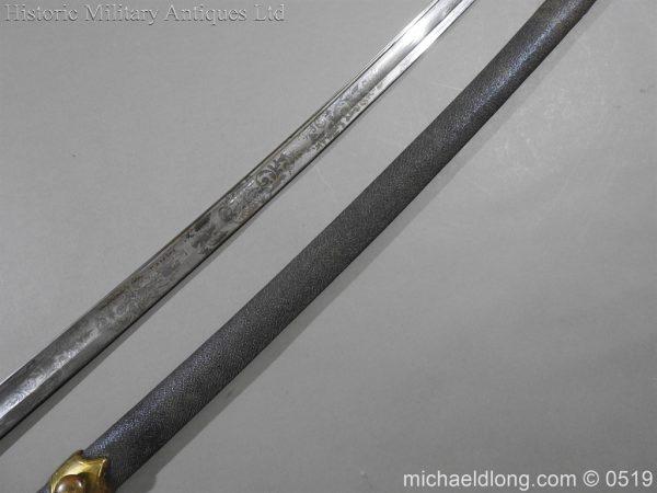 michaeldlong.com 1600 600x450 American Naval Marine Officer's Sword 1815 by Horstmann