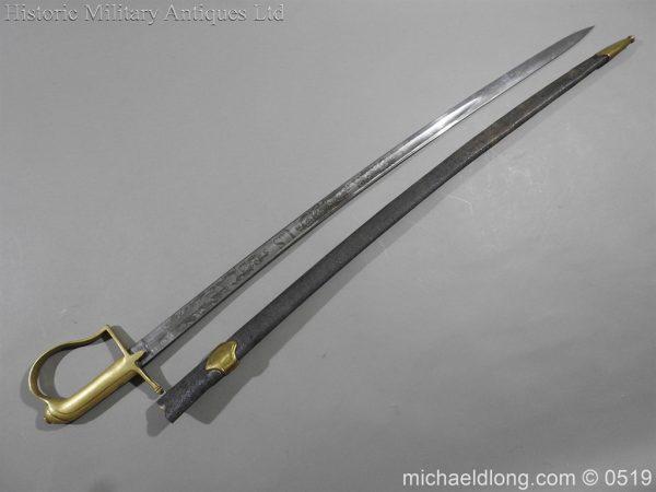 michaeldlong.com 1602 600x450 American Naval Marine Officer's Sword 1815 by Horstmann