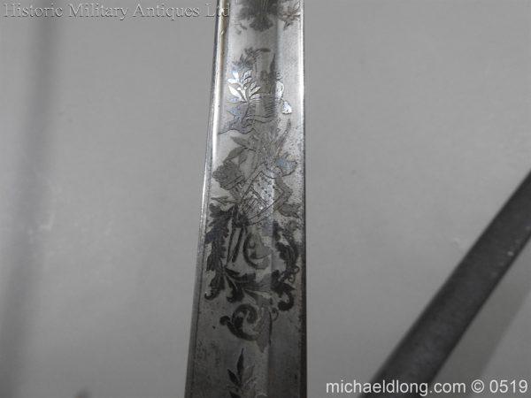 michaeldlong.com 1603 600x450 American Naval Marine Officer's Sword 1815 by Horstmann