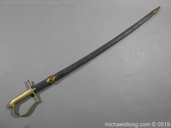 michaeldlong.com 1615 600x450 American Naval Marine Officer's Sword 1815 by Horstmann