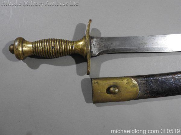 michaeldlong.com 1629 600x450 Military Hanger by S & K Dated 1859