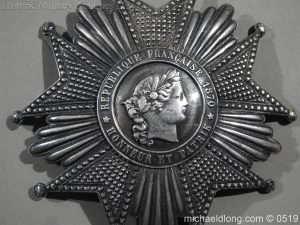 michaeldlong.com 1704 300x225 French Silver Order of the Legion of Honour Grand Cross Breast Star