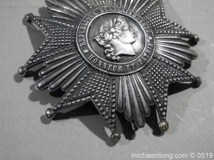 michaeldlong.com 1705 300x225 French Silver Order of the Legion of Honour Grand Cross Breast Star