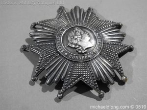 michaeldlong.com 1710 300x225 French Silver Order of the Legion of Honour Grand Cross Breast Star