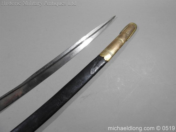 michaeldlong.com 1747 600x450 Royal Naval Officer's Pipe Back Sword By Dudley