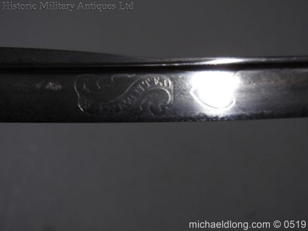 michaeldlong.com 1765 600x450 Royal Naval Officer's Pipe Back Sword By Dudley
