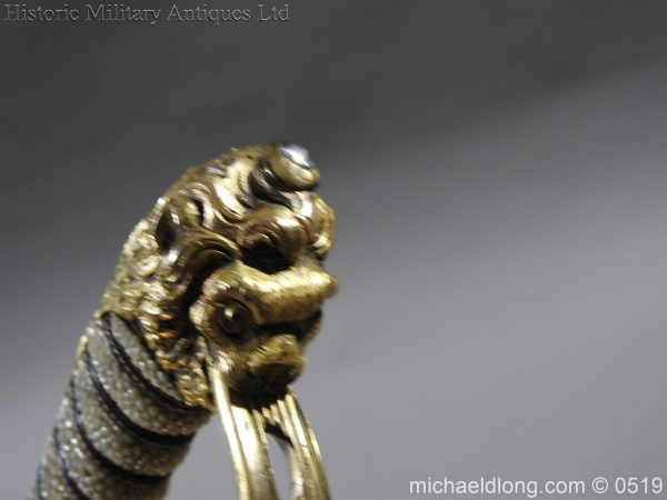 michaeldlong.com 1770 600x450 Royal Naval Officer's Pipe Back Sword By Dudley