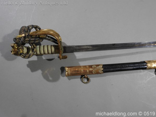 michaeldlong.com 1779 600x450 Edward 8th Royal Naval Officer's Sword