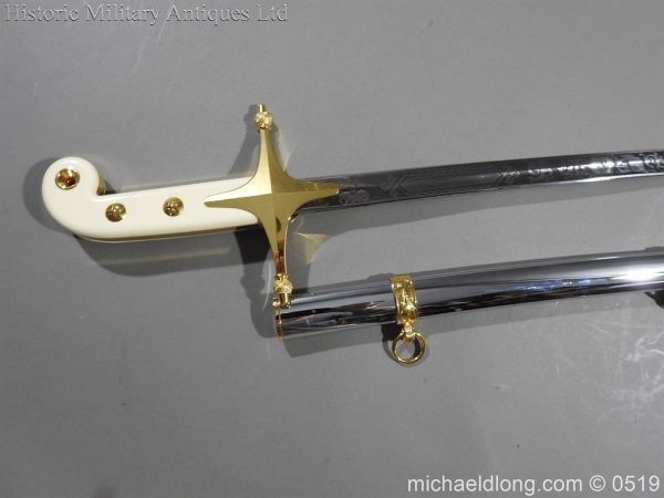 michaeldlong.com 1803 600x450 United States Marine Officer's Sword by Wilkinson Sword