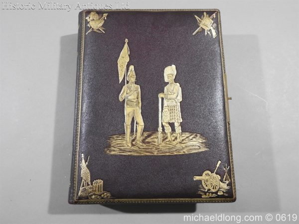 michaeldlong.com 1885 600x450 Victorian British Army Musical Photograph Album