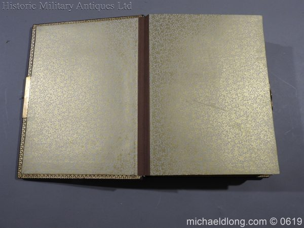 michaeldlong.com 1888 600x450 Victorian British Army Musical Photograph Album