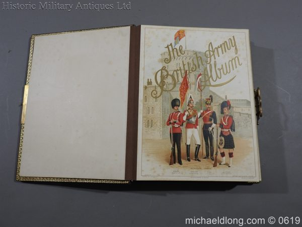 michaeldlong.com 1889 600x450 Victorian British Army Musical Photograph Album