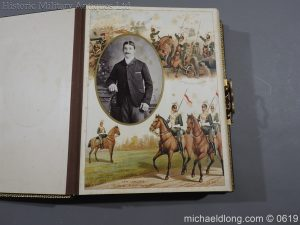 michaeldlong.com 1890 300x225 Victorian British Army Musical Photograph Album
