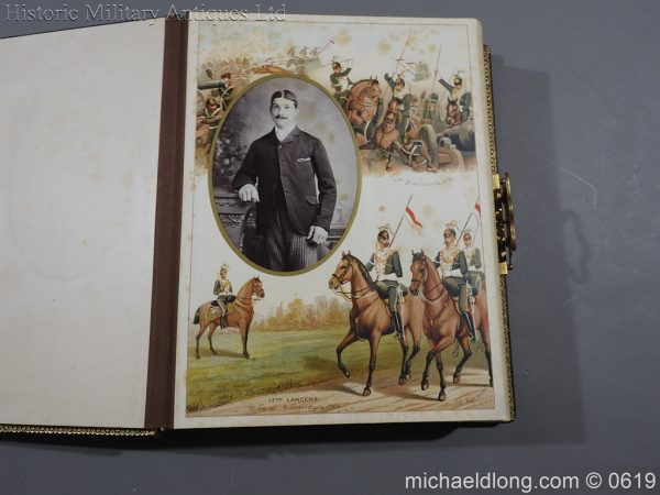 michaeldlong.com 1890 600x450 Victorian British Army Musical Photograph Album