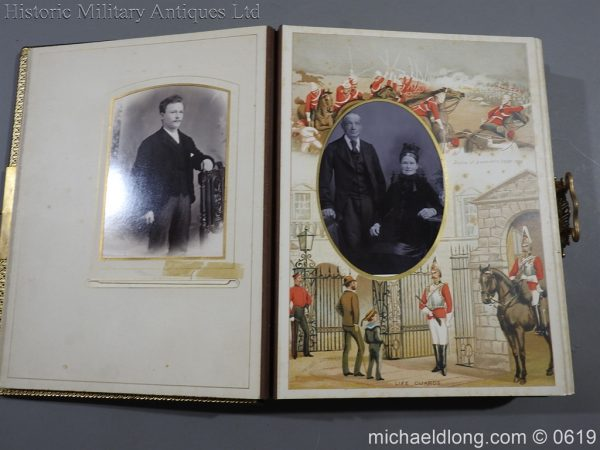 michaeldlong.com 1891 600x450 Victorian British Army Musical Photograph Album