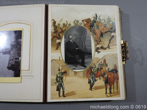 michaeldlong.com 1893 600x450 Victorian British Army Musical Photograph Album
