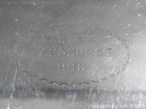 michaeldlong.com 1898 300x225 Sandhurst Presentation Silver Tray Dated 1916
