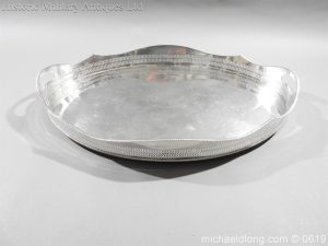 michaeldlong.com 1899 300x225 Sandhurst Presentation Silver Tray Dated 1916