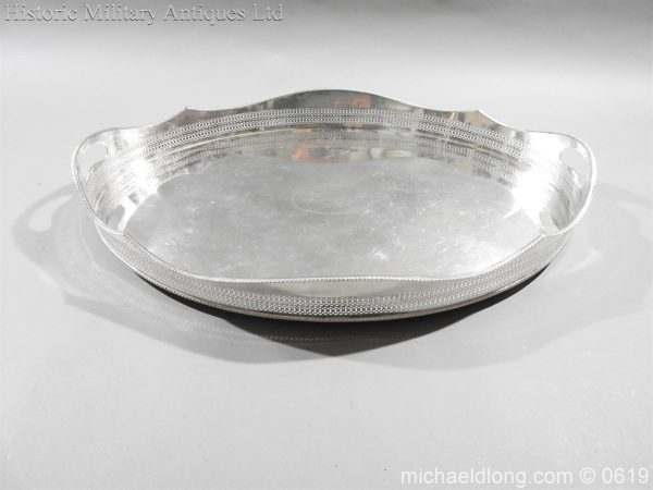 michaeldlong.com 1899 600x450 Sandhurst Presentation Silver Tray Dated 1916