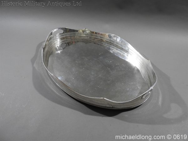 michaeldlong.com 1900 600x450 Sandhurst Presentation Silver Tray Dated 1916