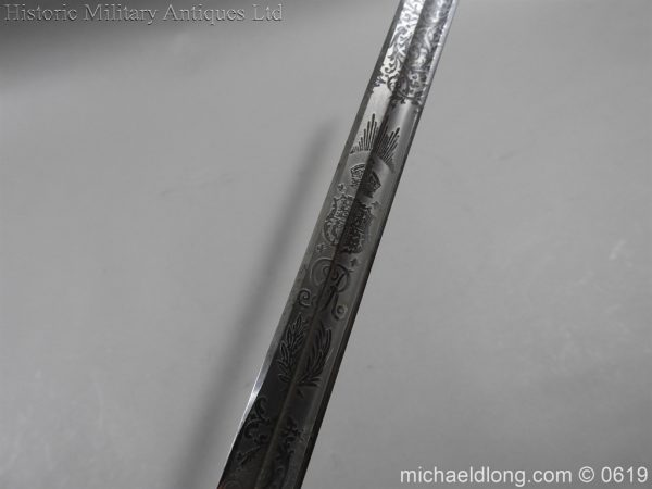michaeldlong.com 1930 600x450 British Officer's 1912 Sword Major Pilkington Scott By Wilkinson
