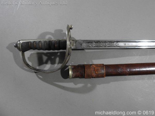 michaeldlong.com 2336 600x450 Irish Guards WW1 Officer's Sword