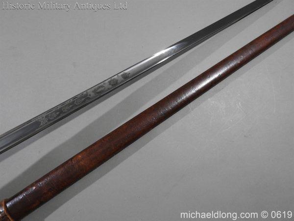 michaeldlong.com 2341 600x450 Irish Guards WW1 Officer's Sword