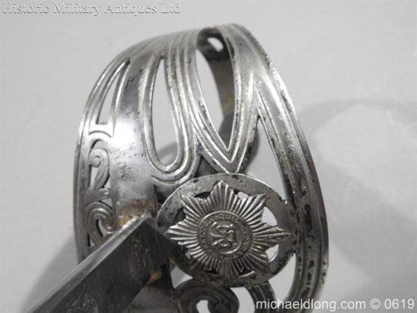 michaeldlong.com 2356 600x450 Irish Guards WW1 Officer's Sword