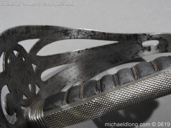 michaeldlong.com 2360 600x450 Irish Guards WW1 Officer's Sword