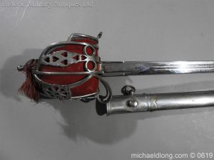 michaeldlong.com 2365 300x225 Royal Scots Fusiliers Officer's Sword By Wilkinson