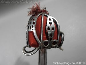 michaeldlong.com 2388 300x225 Royal Scots Fusiliers Officer's Sword By Wilkinson