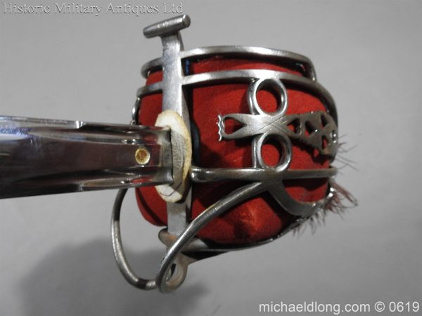michaeldlong.com 2393 600x450 Royal Scots Fusiliers Officer's Sword By Wilkinson