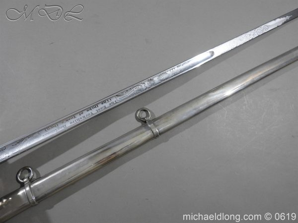 michaeldlong.com 2437 600x450 East Yorkshire Regimental Presentation Sword
