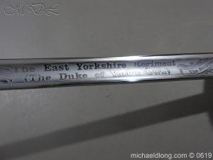 michaeldlong.com 2451 300x225 East Yorkshire Regimental Presentation Sword