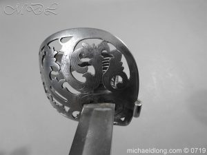 michaeldlong.com 2753 300x225 Scinde Horse Scroll Hilt Cavalry Sword