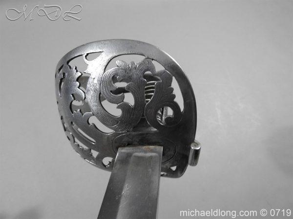 michaeldlong.com 2753 600x450 Scinde Horse Scroll Hilt Cavalry Sword