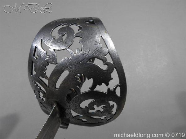 michaeldlong.com 2754 600x450 Scinde Horse Scroll Hilt Cavalry Sword