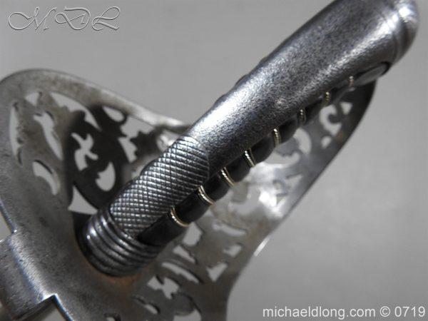 michaeldlong.com 2758 600x450 Scinde Horse Scroll Hilt Cavalry Sword