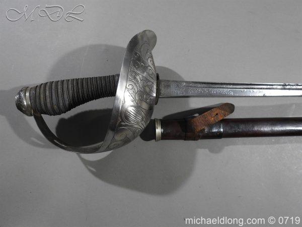 michaeldlong.com 2762 600x450 Inniskilling 5th Dragoon Guards 1912 Officer's Sword