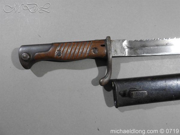 michaeldlong.com 2796 600x450 German Saw Back WW1 Butcher Bayonet