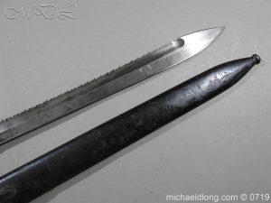 michaeldlong.com 2797 300x225 German Saw Back WW1 Butcher Bayonet