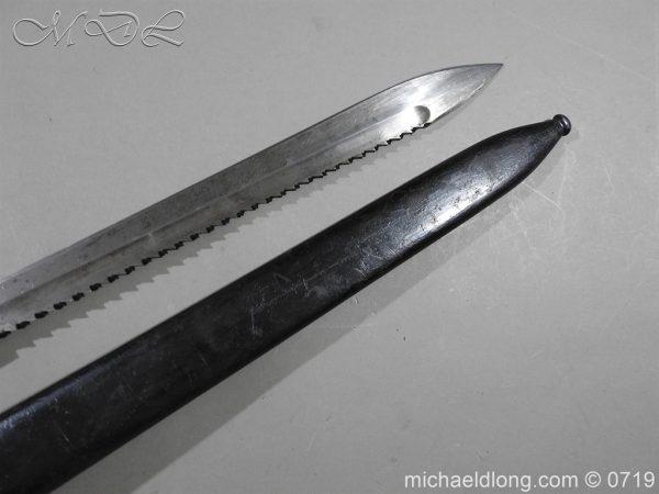michaeldlong.com 2800 600x450 German Saw Back WW1 Butcher Bayonet