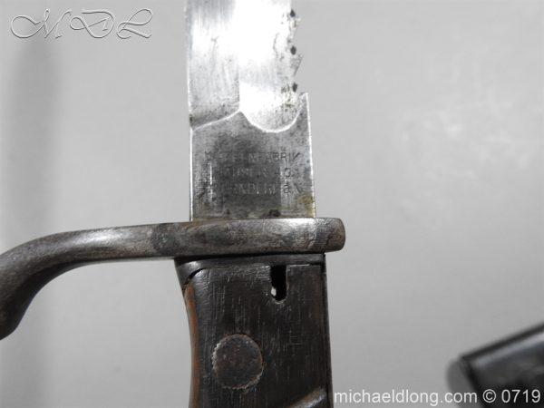 michaeldlong.com 2802 600x450 German Saw Back WW1 Butcher Bayonet