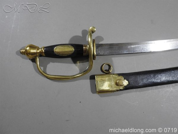 michaeldlong.com 2915 600x450 Irish Walworth Yeomanry Sword