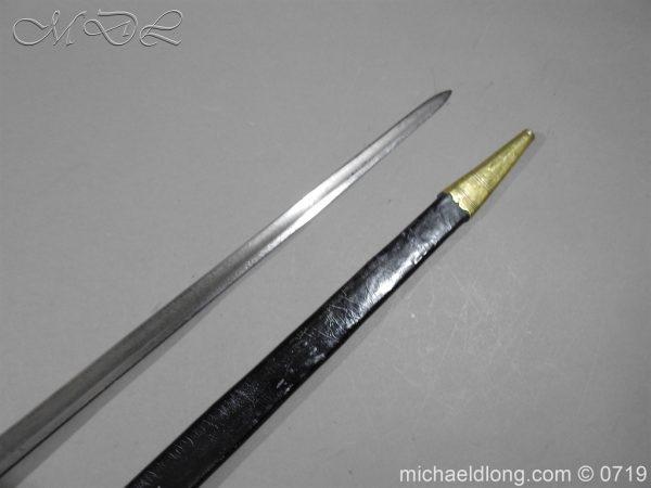 michaeldlong.com 2997 600x450 Georgian Naval Fighting Sword c 1780