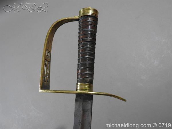 michaeldlong.com 3013 600x450 Georgian Naval Fighting Sword c 1780