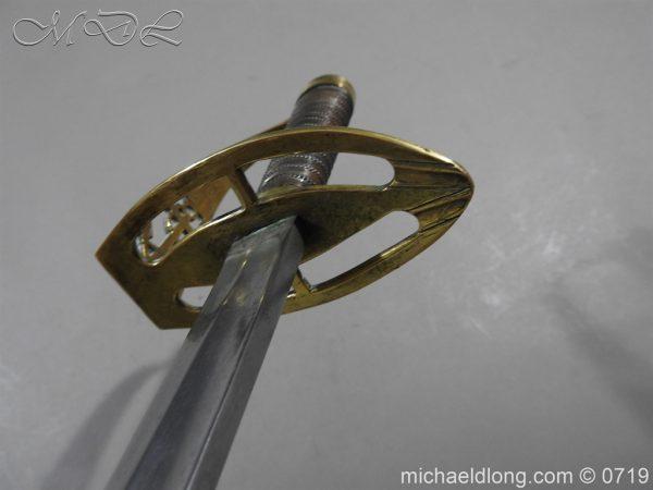 michaeldlong.com 3015 600x450 Georgian Naval Fighting Sword c 1780